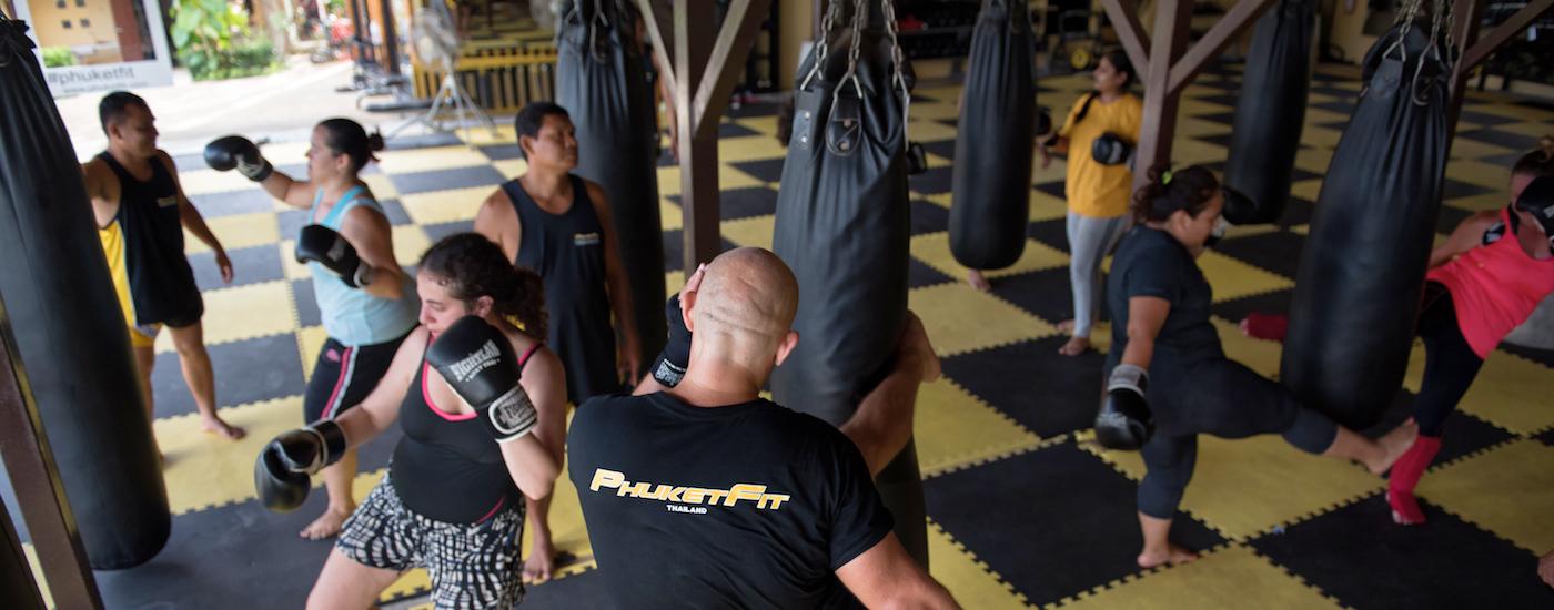 Muay Thai Class at PhuketFit